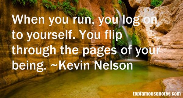 Kevin Nelson Quotes