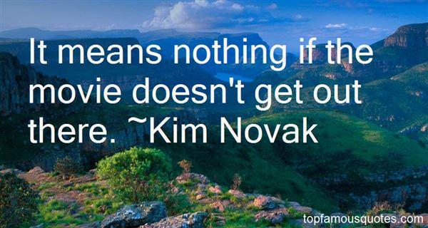 Kim Novak Quotes