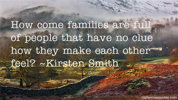 Kirsten Smith Quotes