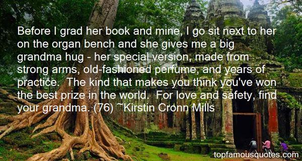 Kirstin Cronn Mills Quotes