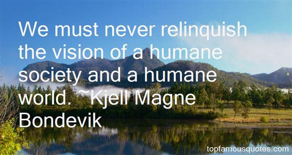 Kjell Magne Bondevik Quotes
