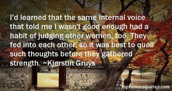 Kjerstin Gruys Quotes
