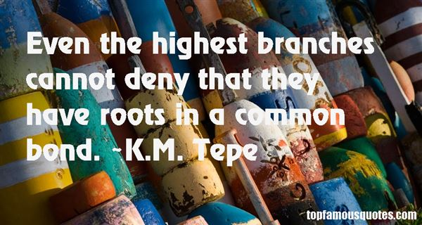 K.M. Tepe Quotes