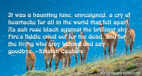 Kristen Cashore Quotes