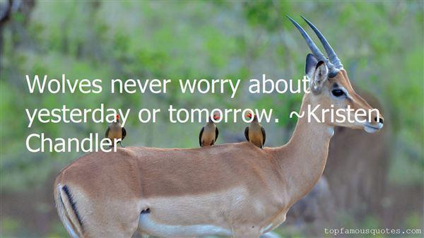 Kristen Chandler Quotes