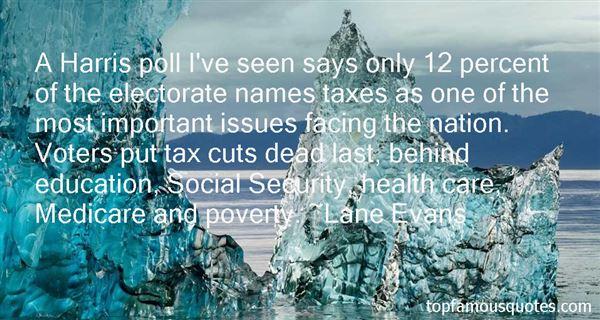 Lane Evans Quotes