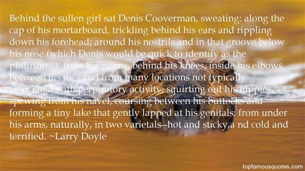 Larry Doyle Quotes