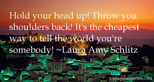 Laura Amy Schlitz Quotes