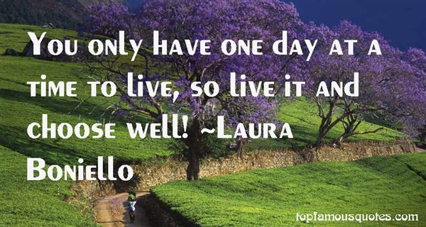 Laura Boniello Quotes