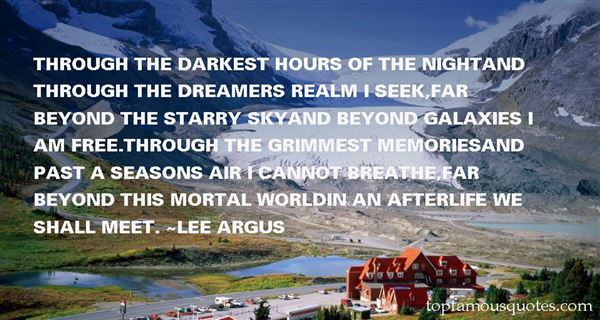Lee Argus Quotes