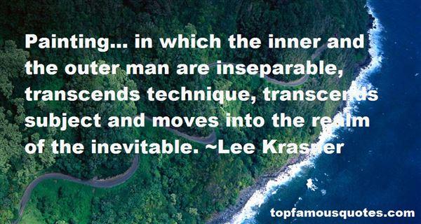 Lee Krasner Quotes