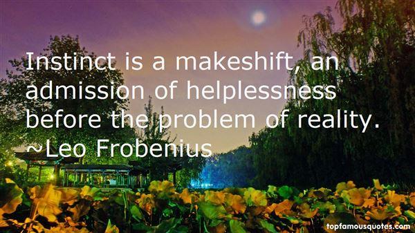 Leo Frobenius Quotes