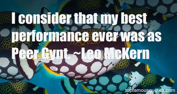 Leo McKern Quotes