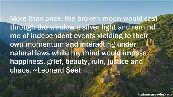 Leonard Seet Quotes