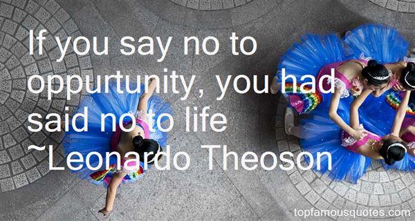 Leonardo Theoson Quotes