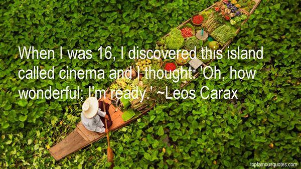 Leos Carax Quotes