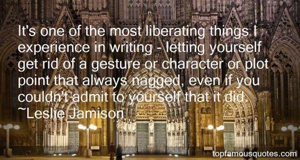 Leslie Jamison Quotes