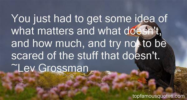 Lev Grossman Quotes