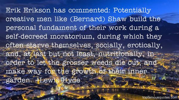 Lewis Hyde Quotes