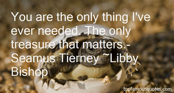 Libby Bishop Quotes