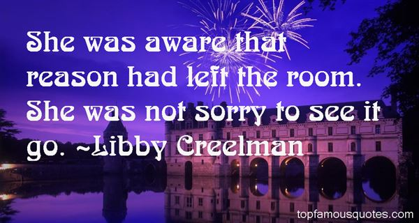 Libby Creelman Quotes