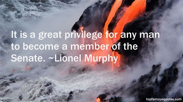 Lionel Murphy Quotes