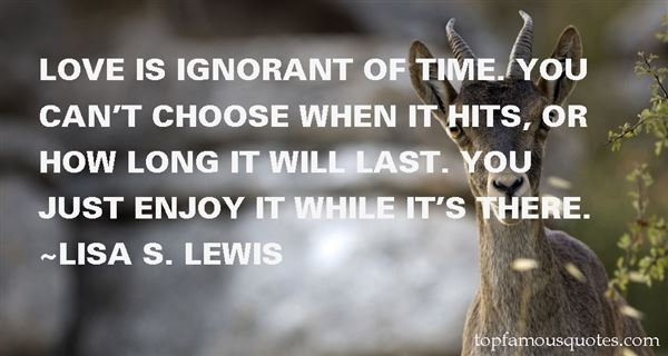 Lisa S. Lewis Quotes