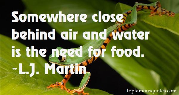 L.J. Martin Quotes