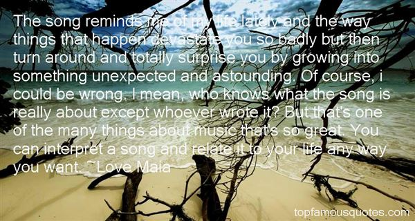 Love Maia Quotes
