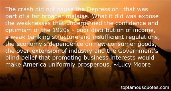 Lucy Moore Quotes