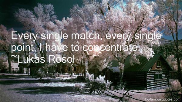 Lukas Rosol Quotes