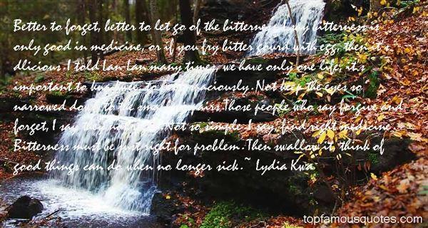 Lydia Kwa Quotes
