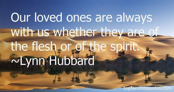 Lynn Hubbard Quotes