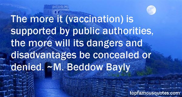 M. Beddow Bayly Quotes