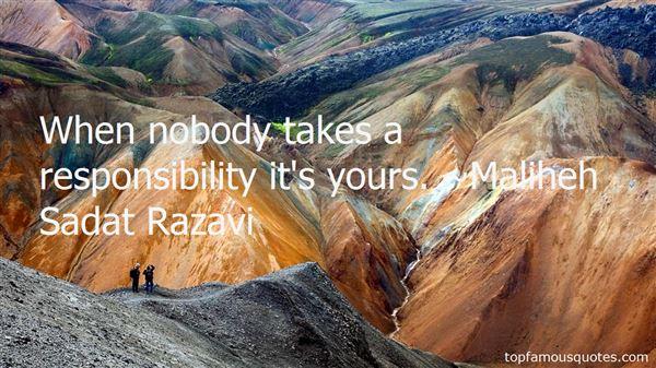 Maliheh Sadat Razavi Quotes