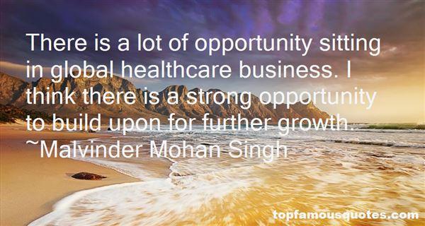 Malvinder Mohan Singh Quotes