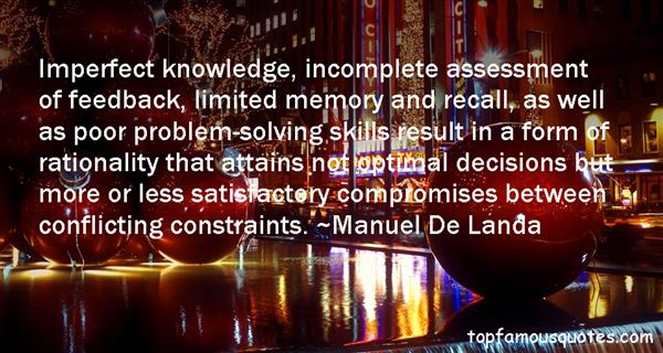 Manuel De Landa Quotes