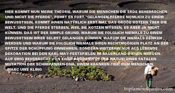 Marc Uwe Kling Quotes