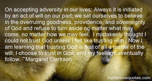 Margaret Clarkson Quotes