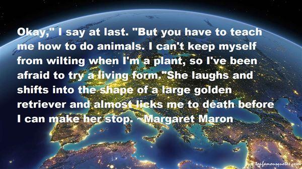 Margaret Maron Quotes