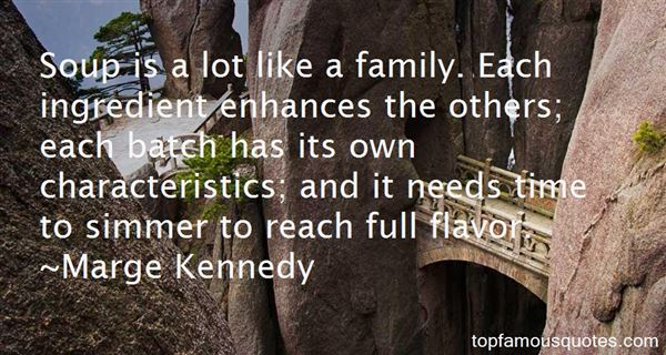 Marge Kennedy Quotes