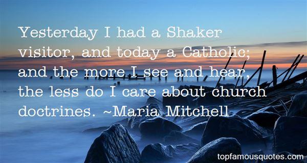 Maria Mitchell Quotes