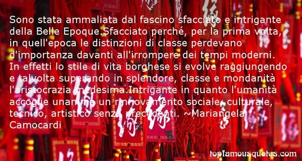 Mariangela Camocardi Quotes