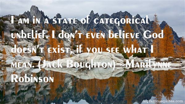 Marilynne Robinson Quotes