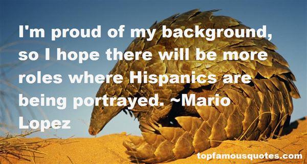 Mario Lopez Quotes