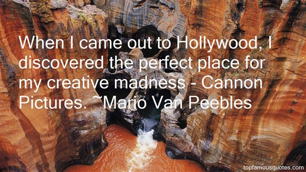 Mario Van Peebles Quotes