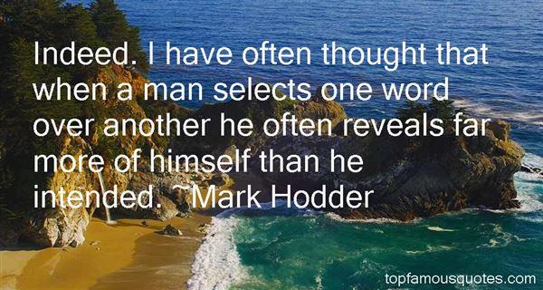 Mark Hodder Quotes