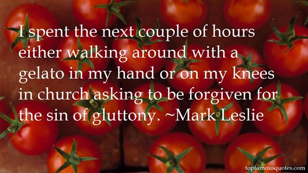 Mark Leslie Quotes