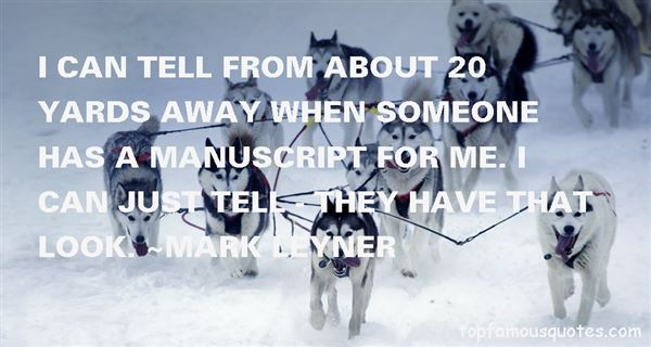 Mark Leyner Quotes