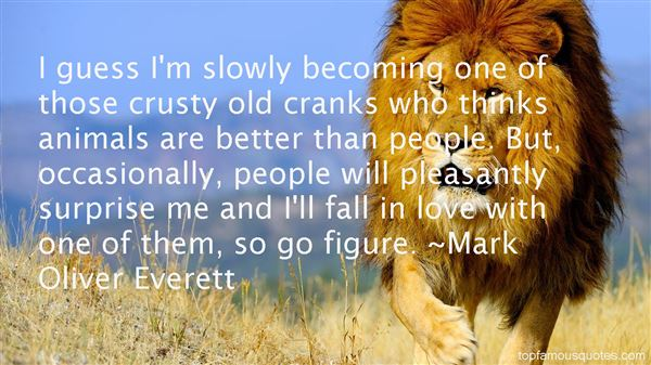 Mark Oliver Everett Quotes